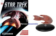 Star Trek Official Starships Collection #016 Ferengi Marauder Eaglemoss
